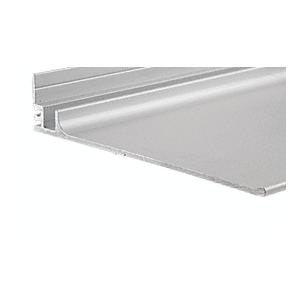 "Satin Anodized 18"" Optional Shelf for Stock Size Mirror Frame"