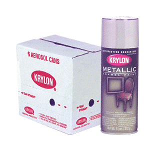 KRYLON KP1401 Brite Silver Spray Paint
