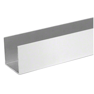 "CRL SV643A Satin Anodized 1-1/4"" U-Channel Extrusion - 144"""