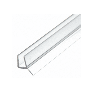 """CRL P14WS Dual Durometer PVC Seal and Wipe for 1/4"""" Glass"""
