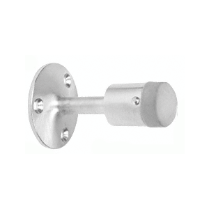 CRL DL2532A Satin Chrome Wall Mounted Heavy-Duty Door Stop