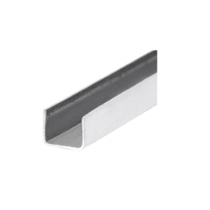 "CRL SS955 Stainless Steel 1/4"" x 1/4"" U-Channel"