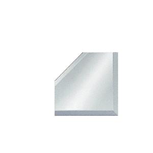 "CRL BM2M4 Clear Mirror Glass 4"" Mitered Corner Beveled on 3 Sides"