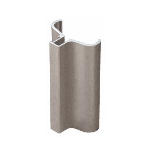 """CRL S0H334BN Brushed Nickel Slip-On Handle for 3/16"""" or 1/4"""" Frameless Pivot Door"""