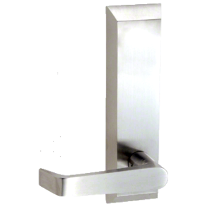 Brushed Stainless 1600 Series Lever Trim for 1900 Rim Panic Devices