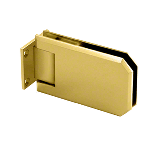 CRL ELT074SB Satin Brass Elite 074 Series Wall Mount Hinge