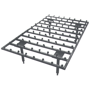 """84"""" x 168"""" Ball Caster Transfer Table"""