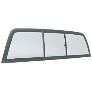 "CRL ECT944S ""Perfect Fit"" 1995-1997 Tri-Vent Slider with Solar Glass for Dodge Ram Extended Cab with Interior Trim Rings"