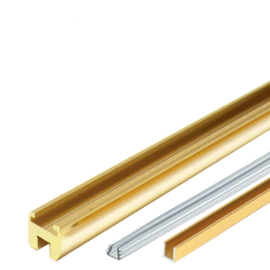 "CRL HEADER06BR Polished Brass 98"" Junior Frameless Shower Door Header Kit"
