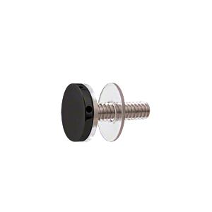 "CRL CAP34MBL Matte Black 3/4"" Diameter Standoff Cap Assembly"