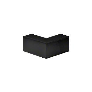"CRL S0GC90MBL Matte Black 90 Degree ""Sleeve Over"" Glass Clamp"