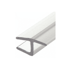 "Polycarbonate H-Jamb 180 Degree for 1/2"" Glass - 95"" Stock Length"