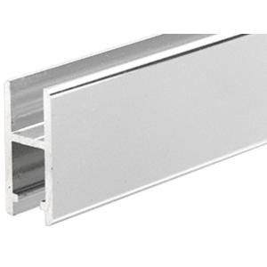 CRL DV146BA Brite Anodized Aluminum H-Bar Extrusion for Showcases