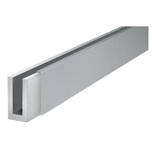 "CRL BWCBS10 Brushed Stainless 120"" Cladding for Windscreen and Smoke Baffle Base Shoe"