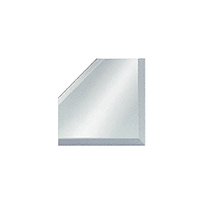 "CRL BM2M2 Clear Mirror Glass 2"" Mitered Corner Beveled on 3 Sides"
