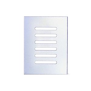 "CRL FMG680 Clear Flat Acrylic 6"" x 8"" Mirror Grille"
