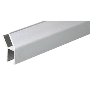 CRL D615A Satin Anodized Aluminum 33 Degree Slant 'H' Bar