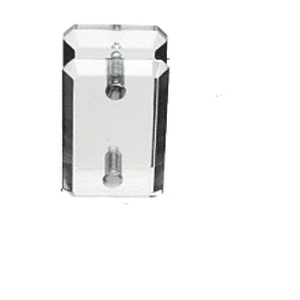 CRL AMC180 Clear Acrylic 180 Mall Glass Clamp