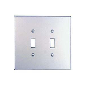 CRL PMP201 Clear Double Toggle Acrylic Mirror Plate