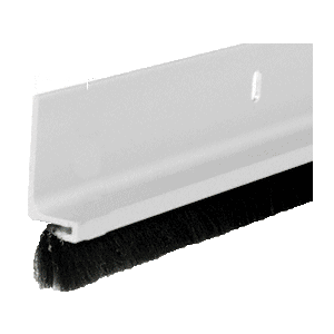 Satin Anodized Finned Door Sweep - 144""