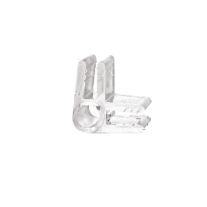 CRL CPDC2 Clear Plastic 90 2-Way Display Connector