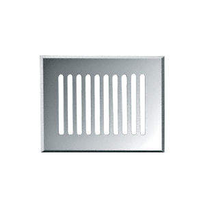 "CRL GMG810C Clear Mirror 8"" x 10"" Glass Mirror Grille"