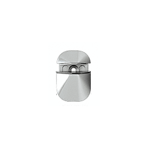 CRL DL631CH Polished Chrome Adjustable Shelf Clamp