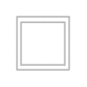 CRL APG2 Double Acrylic Plate Perimeter Gasket