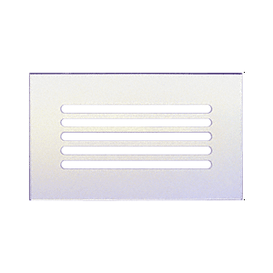 "CRL FMG1060 Clear Flat Acrylic 10"" x 6"" Mirror Grille"