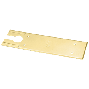 DORMA BTS7410CPPB Polished Brass BTS80 Series Cover Plate