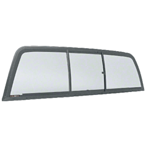 "CRL ECT904S ""Perfect Fit"" Tri-Vent Three Panel ""Perfect Fit"" Slider with Solar Glass 1994-2001 Dodge Ram 1500 1994-2002 2500-3500 Standard Cabs"