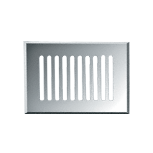"Clear Mirror 8"" x 16"" Glass Mirror Grille"