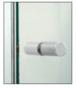 CRL SDK112BN Brushed Nickel Cylinder Style Back-to-Back Shower Door Knobs