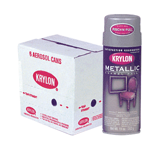 KRYLON KP1403 Dull Aluminum Spray Paint