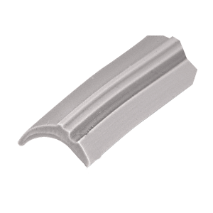 "CRL GS111C Gray 1/2"" Wide Glazing Spline - 100' Roll"