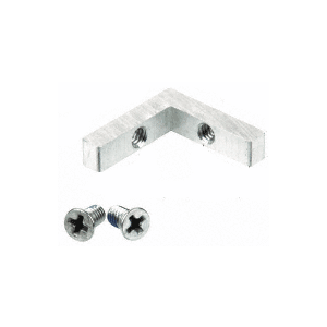 CRL D662WS Upper Frame Corner and Screws for Fixed Glass Frame