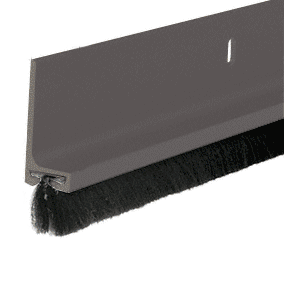 Medium Bronze Painted Finned Door Sweep - 144""