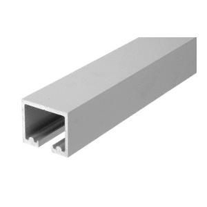 "CRL 0TTR120SA Satin Anodized 120"" Length Top Track for OT Series Top Hung Sliders and Bi-Fold Doors"