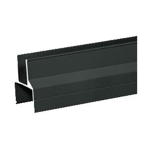 "CRL 1BR241BL Matte Black 100 Series 241"" Bottom Rail"
