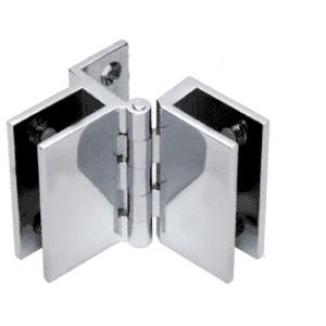 CRL EH66 Chrome Frameless Triple Mirror Hinge