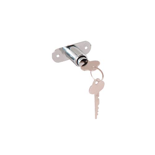 CRL Chrome Plated Deluxe Plunger Lock Keyed Alike