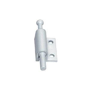 CRL S4357 White Offset Mount Push-Pull Sliding Window and Door Lock