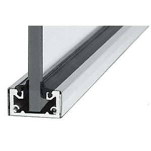 "CRL SCSA3812SL Satin Anodized 120"" Shallow U-Channel"