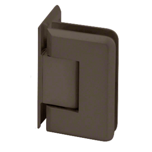 CRL P1N0440RB Oil Rubbed Bronze Pinnacle 044 Series Wall Mount Offset Back Plate Hinge