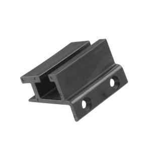 """CRL DK6914 1/4"""" Bottom Guide for CK/DK for Cottage Series Sliders"""
