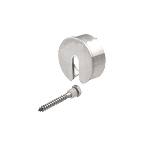 "CRL GR20SECBS Brushed Stainless Stabilizing End Cap for 2"" Cap Railing"