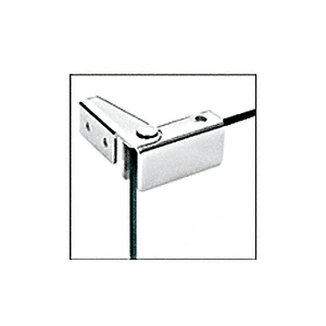 CRL GDH86CH Chrome Recess Mount Glass Door Hinge