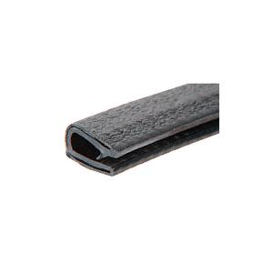 CRL 75000339 Black Sof-Tone 300' QuickEdge Long Leg Single Lip Trim