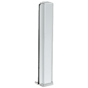 "CRL D990A18C Satin Anodized 18"" Center Design Series Partition Post"