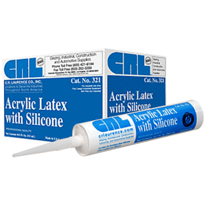 CRL 321C Clear 321 Acrylic Latex with Silicone
